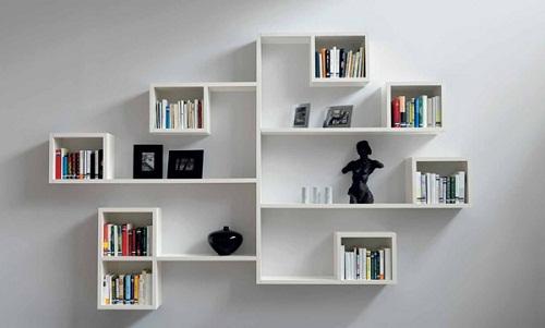 kệ sách treo tường bằng nhựa