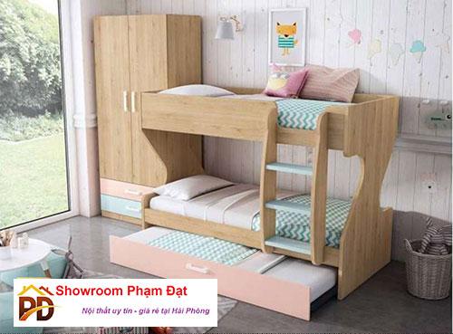 đặc điểm giường tâng gỗ