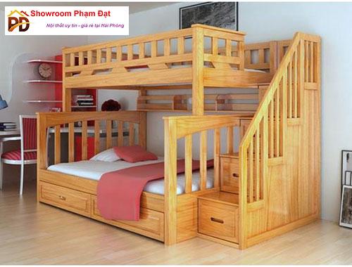 giường hộp 2 tầng người lớn