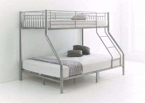 giường hộp bằng sắt