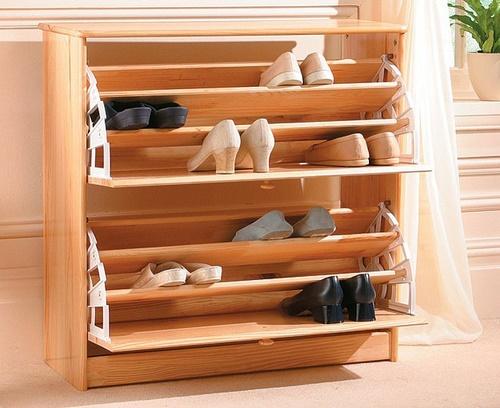 tủ giày gỗ thông minh