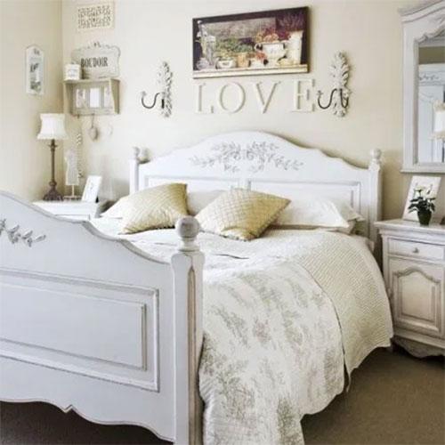giường ngủ theo phong cách vintage